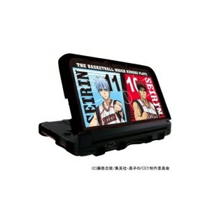 Game Accessory (Nintendo 3DS LL) / 黒子のバスケ カスタムハードカバー Black Ver. for ニンテンドー3DS LL 【GAME】