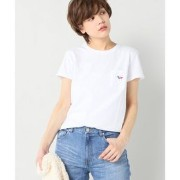 MAISON KITSUNE TRICOLOR FOX PATCH Tシャツ【イエナ/IENA Tシャツ・カットソー】