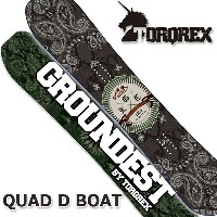 TORQREX トルクレックス GROUNDEST LIMITED QUAD D BOAT クアッドディーボート 17-18 送料無料 10%OFF 予約