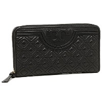 (トリーバーチ) TORY BURCH トリーバーチ 財布 TORY BURCH 32166 001 FLEMING ZIP CONTINENTAL WALLET 長財布 BLACK [並行輸入品]