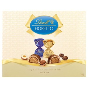 リンツ(Lindt) Fioretto Chocolates Assorted gift box 170g [海外直送] [並行輸入品]