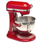 KitchenAid KV25GOXER Professional 5 Plus 5-Quart Stand Mixer, Empire Red by KitchenAid
