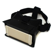 3D VRゴーグル VRヘッドセット 3.5-6インチ スマホ用 DOODEEN VR BOX Virtual Reality Headset 3D Video Movie Game Glasses