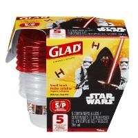 Glad Lunch Variety Pack Disney Star Wars 5 Pieces