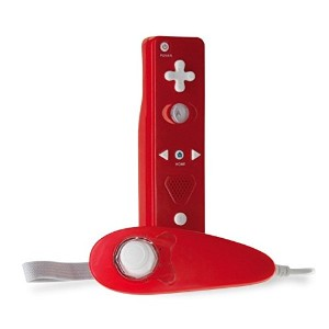 Tomee Wii U/ Wii Remote & Nunchuk Super + Pack Red - リモート & ヌンチャク スーパー + パック レッド (WiiU Wii...