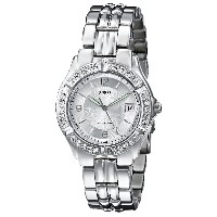 時計 GUESS ゲス Crytsal Stainless Steel Bracelet Watch G75511m [並行輸入品]