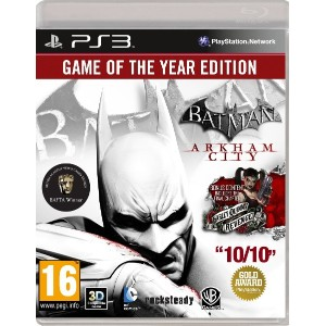 Batman Arkham City: Game of the Year Edition (PS3・輸入版)