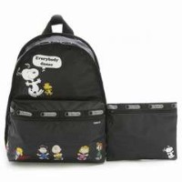 LeSportsac レスポートサック 7812 G062 FRIEND PARADE ベーシックバックパック BASIC BACKPACK リュックサック バッグ かばんスヌーピー【f】【新品...
