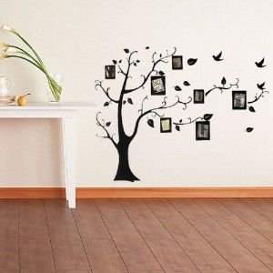 Photo Frame Tree Family Picture Wall Sticker For Home Decor (Usa)