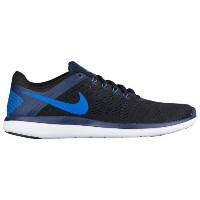 (取寄)ナイキ メンズ フレックス RN 2016 Nike Men's Flex RN 2016 Black Binary Blue White Soar