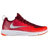(取寄)ナイキ メンズ ヴェイパー スピード ターフ Nike Men's Vapor Speed Turf Team Red Metallic Silver Total Crimson