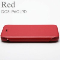 Deff Genuine Leather Case for iPhone6 Red DCS-IP6GLRD【納期目安:1週間】
