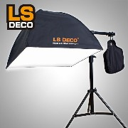 LS DECO 日本製電源ユニット XD-Light ブームセット 撮影照明 撮影ライト XDL(28440) 蛍光灯なし