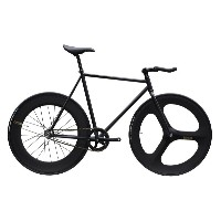 ピストバイク 完成車 CARTELBIKES AVENUE LO MAT BLACK DINER FRONT 3SOKE REAR 88mm CARBON WHEEL CUSTOM カーテルバイクス...