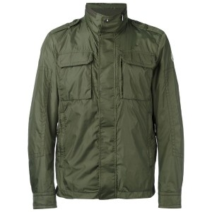Moncler - military style jacket - men - ポリアミド - 4