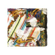 Etro - embroidered scarf - women - シルク/メタリックファイバー - ワンサイズ