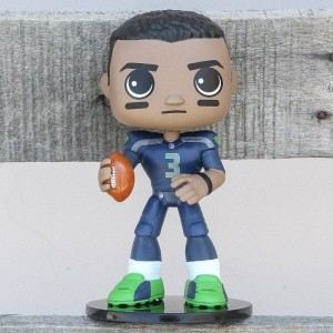 ファンコ Funko おもちゃ 【Funko Wobblers NFL Seattle Seahawks Russell Wilson Bobble Head 】