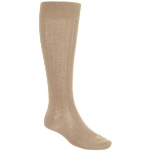 パンセレラ Pantherella メンズ インナー ソックス【Merino Wool Socks - Over the Calf】Light Khaki