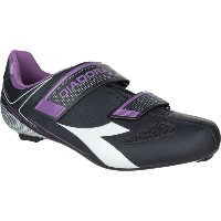 ディアドラ Diadora レディース 自転車 シューズ・靴【Phantom II Cycling Shoes】Dk Smoke/White/Violet Orchid Iris