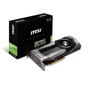 MSI Pascal アーキテクチャー採用 グラフィックスカード GeForce GTX 1080 Ti Founders Edition
