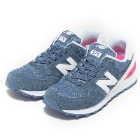 レディース 【NEW BALANCE】 ニューバランス WL574CNB 17SS LIGHT BLUE(CNB)