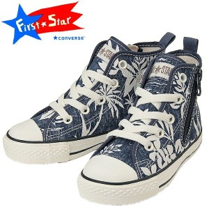 CONVERSE CHILD ALL STAR N ALOHASHIRTS Z HI ネイビー キッズスニーカー 子供靴
