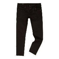 ジースター メンズ ボトムス ジーンズ【G-Star 3301 Black Edington Slim Fit Stretch Denim Jeans】Denim Raw