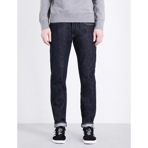 リーバイス levi's メンズ ボトムス ジーンズ【501 regular-fit tapered jeans】Mossy selvedge