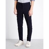 ヒューゴ ボス hugo boss メンズ ボトムス チノパン【slim-fit tapered stretch-cotton chinos】Dark blue