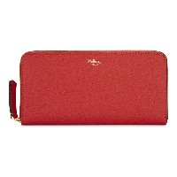 マルベリー mulberry レディース アクセサリー 財布【grained leather zip-around wallet】Fiery red