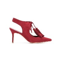 Sarah Chofakian - panelled pumps - women - ゴートスエード - 38