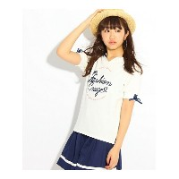 【SALE/24%OFF】PINK-latte ★ニコラ掲載★セーラーカラートップス ピンク ラテ カットソー【RBA_S】【RBA_E】【送料無料】