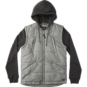 ルーカ RVCA メンズ アウター ジャケット【Puffer Quilted Expedition Insulated Jacket】Pirate Black
