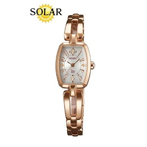 [オリエント] ORIENT 腕時計 iO Sweet Jewelry Solar Ladies Quartz SWDAC004W0 《逆輸入品》