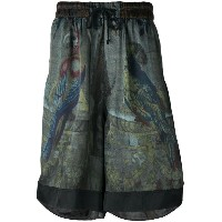 Dries Van Noten printed shorts