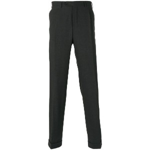 Canali - tailored trousers - men - ウール - 56