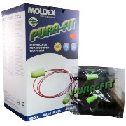 MOLDEX PURA-FIT Ear Plugs Soft Foam with Cord 1 Box by R3 Safety - MS92215 by R3 Safety [並行輸入品]