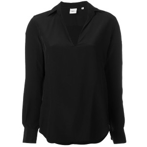 Aspesi - collared blouse - women - シルク - 42