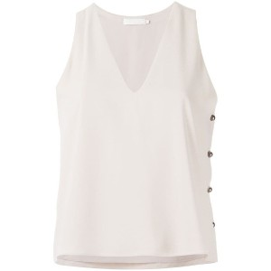 Giuliana Romanno - embellished tank top - women - ポリエステル - 42