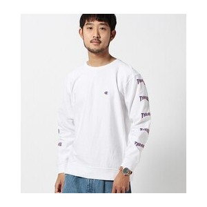 "Champion×BEAMS / ""THRASHER COLLECTION"" ロングスリーブT【ビームス メン/BEAMS MEN Tシャツ・カットソー】"