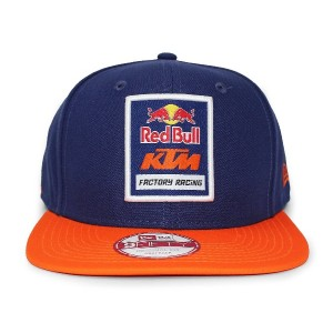 (ニューエラ)NEW ERA RED BULL KTM FACTORY RACING 【LOGO SNAPBACK/NAVY-ORG】レッドブル KTM 9FIFTY スナップバック...