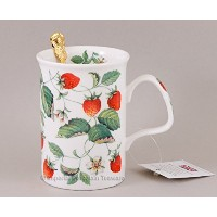 Roy Kirkham Alpine Strawberry (lancaster) Mug - R by Roy Kirkham