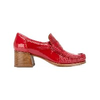 Lathbridge By Patrick Cox - stacked heel loafers - women - レザー/エナメルレザー - 38