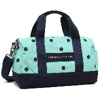 トミーヒルフィガー バッグ TOMMY HILFIGER 6930059 266 CORE PLUS MINI DUFFLE BICOLOR DOT ショルダーバッグ POSY/NAVY...