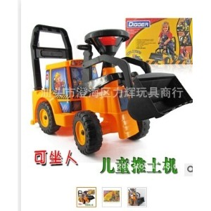 Baby stroller wholesale four roller driving children toy baby stroller self loading Walker...