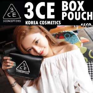 [3CE/Stylenanda/3CONCEPT EYES/韓国コスメ/ウユクリーム] 3CE BOX POUCH