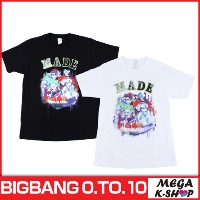 BIGBANG -BIGBANG T-SHIRTS BIGBANG [BIGBANG THE CONCERT 0.TO.10 FINAL IN SEOUL MD][公式グッズ][YG]