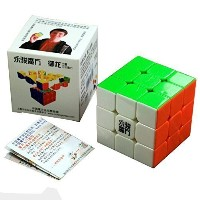 Moyu 3x3x3 Speed Cube Puzzle 6- color Stickerless