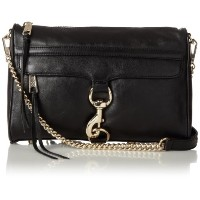 Rebecca Minkoff MAC Convertible Cross-Body Bag Black One Size