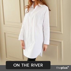 ★ontheriver★ HIT ITEM ★ Super Price ★ Basic Design / Good Quality Material / Long shirts / Shirts...